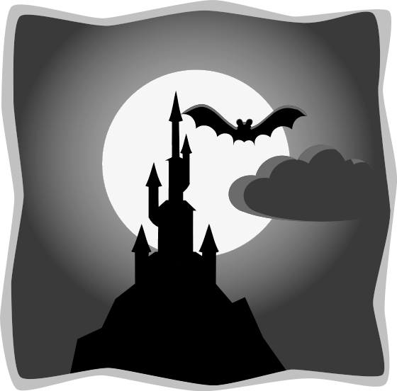 spooky_castle_in_full_moon_BW